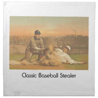 OBERSTER klassischer Baseball Stoffserviette