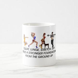OBERSTER untersetzter Slogan Kaffeetasse
