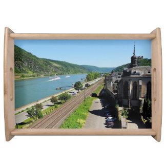 Oberwesel am Rhein Serviertablett