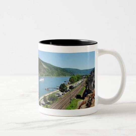 Oberwesel am Rhein Zweifarbige Tasse