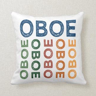 Oboe bunt kissen
