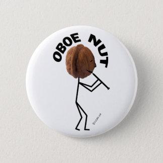 Oboe Nuss Runder Button 5,1 Cm