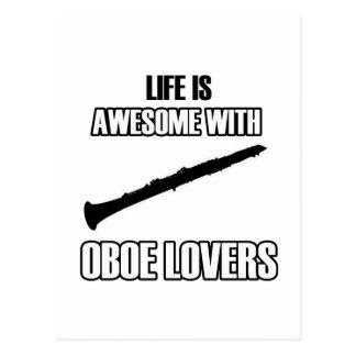 oboe oboe postkarte