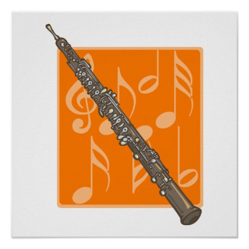 Oboe Poster