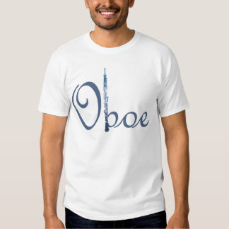 Oboe Skript T Shirts