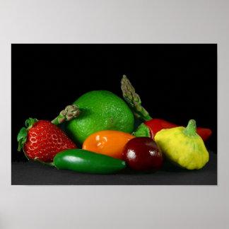Obst und Gemüse Plakat VON 14,95