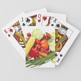 Obst und Gemüse Spielkarten
