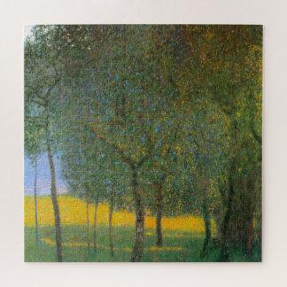 Obstbäume durch Gustav Klimt, Vintage Kunst Puzzle