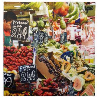 Obstmarkt Stoffserviette