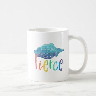 Obwohl sie aber wenig ist, ist sie heftig kaffeetasse