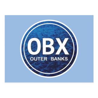 OBX äußere Bank-Strand-Umbau-Postkarte Postkarte