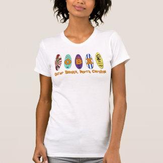 OBX äußeres Bank-Brandungs-Brett-Shirt T-Shirt