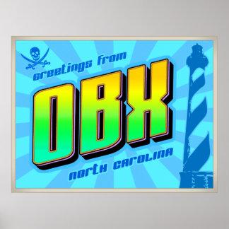 OBX Plakat
