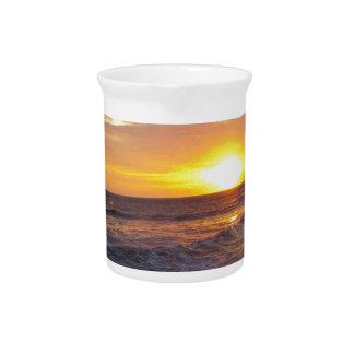 OBX Sonnenaufgang-äußerer Bank-Sonnenaufgang Getränke Pitcher