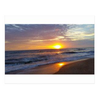 OBX Sonnenaufgang-äußerer Bank-Sonnenaufgang Postkarte