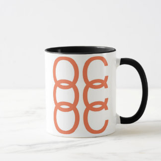 OC x 3 Orangen-Landkreis-Orangen-Tasse Tasse