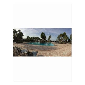 Ocala Swimmingpool Postkarte