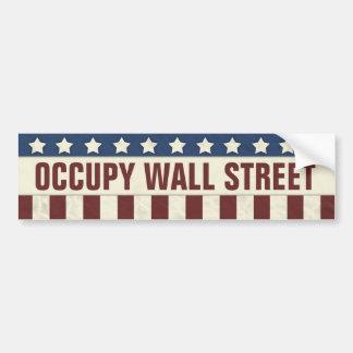 Occupy Wall Street Autoaufkleber