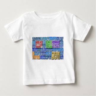 Occupy Wall Street KAMPF Habsucht-HOHER Entwurf Baby T-shirt