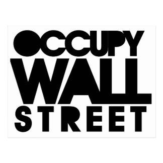 Occupy Wall Street Postkarte