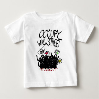 Occupy Wall Street-Protest Baby T-shirt