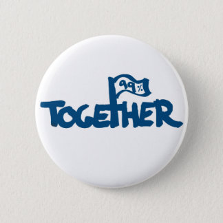 Occupy Wall Street Runder Button 5,1 Cm
