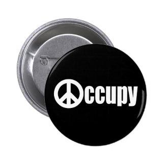 Occupy Wall Street Runder Button 5,1 Cm