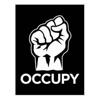 Occupy Wall Street - wir sind die 99% Postkarte