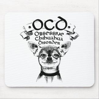 OCD besessene Chihuahua Mousepad
