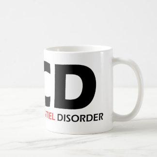 OCD - Besessene Cockatiel-Störung Kaffeetasse