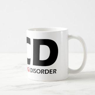 OCD - Besessene Corgi-Störung Kaffeetasse