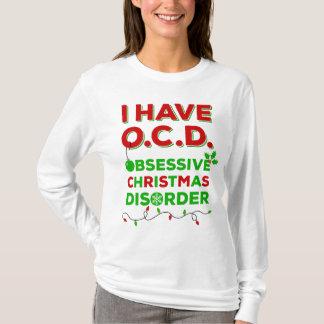 OCD besessene Weihnachtsstörungs-T - Shirts