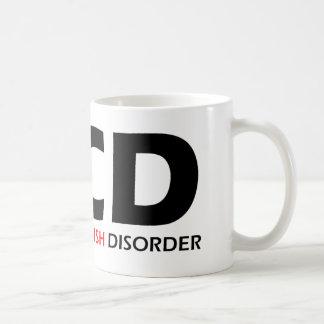 OCD - Besessene Wels-Störung Kaffeetasse