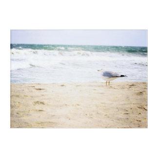 Ocean Waves Surf Seagull Water Beach Decor Acrylic Acryldruck