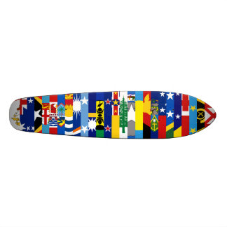 Oceanian kennzeichnet Skateboard Individuelle Skateboards