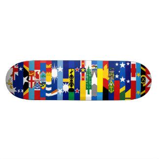 Oceanian kennzeichnet Skateboard Personalisierte Skateboarddecks