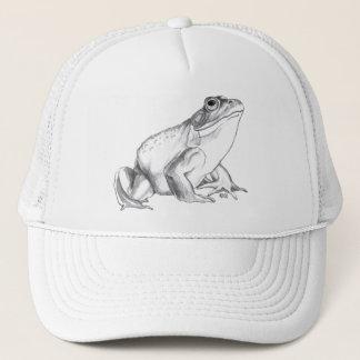 Ochsenfrosch-Kappen-Frosch-Hut-Frosch-Kunst-Kappen Truckerkappe