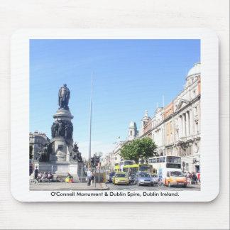 O'Connell-Monument u. Dublin-Helm, Dublin Irland Mauspads
