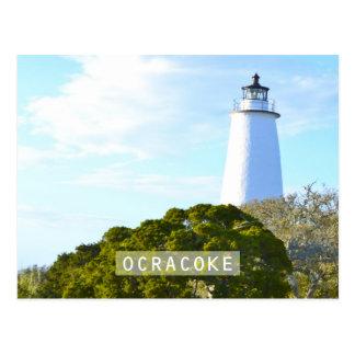 Ocracoke Insel Postkarte