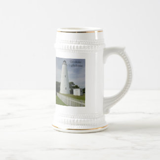 Ocracoke Leuchtturm Bierglas