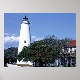Ocracoke Lighth Posterdrucke