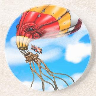 Octo-Ballon Getränkeuntersetzer