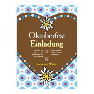 Octoberfest Einladung 12,7 X 17,8 Cm Einladungskarte
