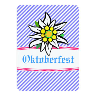 Octoberfest Einladung minimalistic
