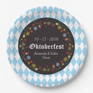 Octoberfest, Oktoberfest Party-Teller - fertigen Pappteller