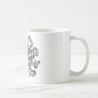 Octopus 1 black kaffeetasse