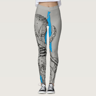 Octopus Kraken Leggins