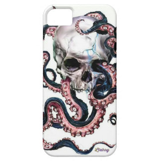 Octopus & skull hülle fürs iPhone 5