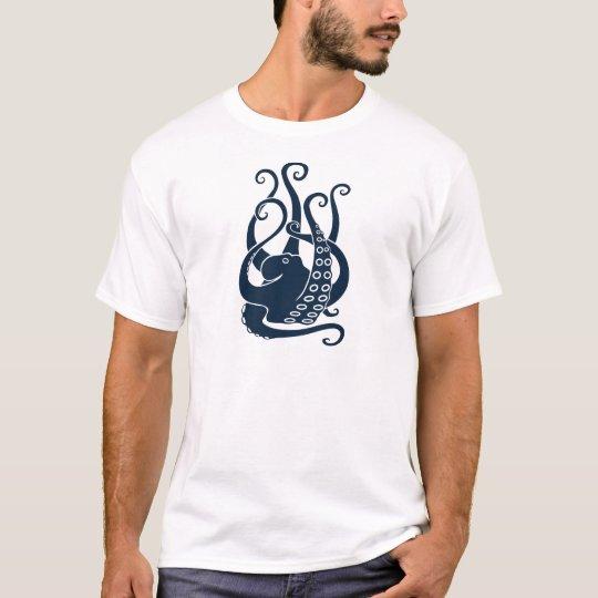 octopus squid cuttlefish oktopus scuba diving T-Shirt