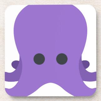 Octopuss Emoji Getränkeuntersetzer